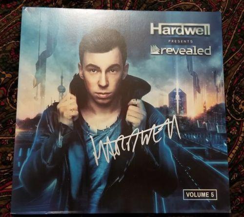 HARDWELL signed auto REVEALED VOLUME 5 Vinyl LP PROOF