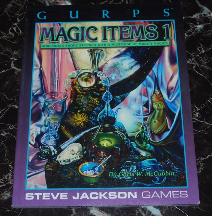 GURPS Magic Items 1 Second Printing  SJG