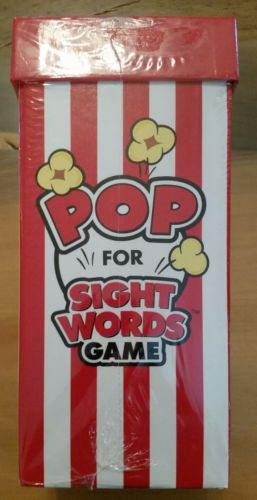 Pop For Sight Words Game New Age 5+