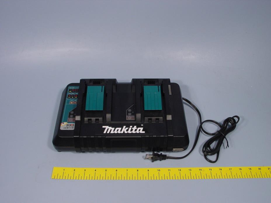 Makita DC18RD 7.2-18 volt Li-ion Dual Port Optimum Charger Brand New w/USB