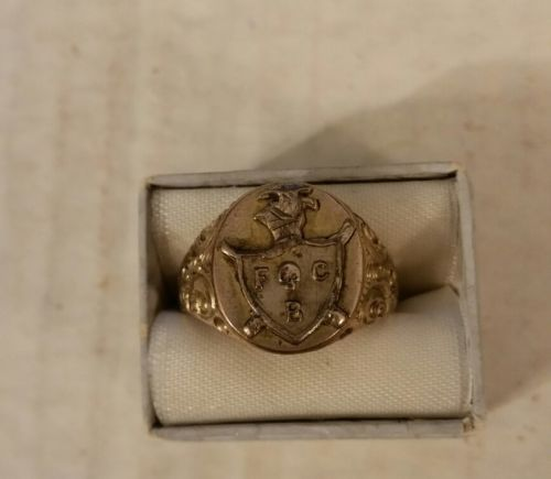 Vintage Knights of Pitheus Ring