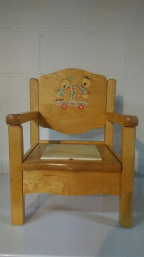 Vintage Potty Chair Baby Time Furniture- Rochelle Furniture