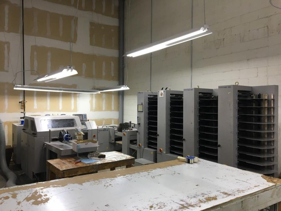 Horizon StitchLiner 5500 Saddle Stitcher (4 VAC 100 Towers)