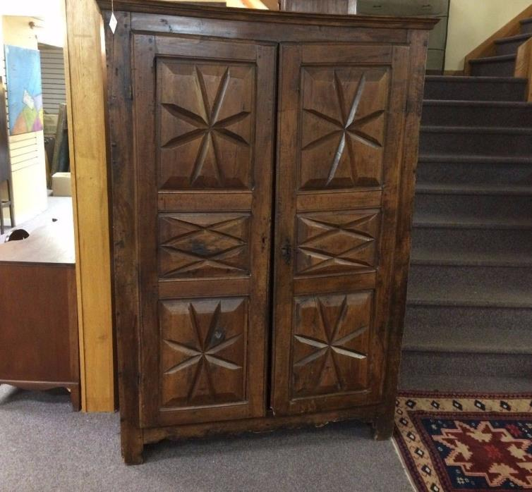 Antique 18th Century French Armoire Cabinet Wardrobes