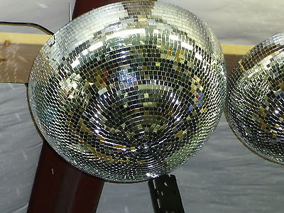 20 Inch Half Mirror Ball with Built in Motor and Mount