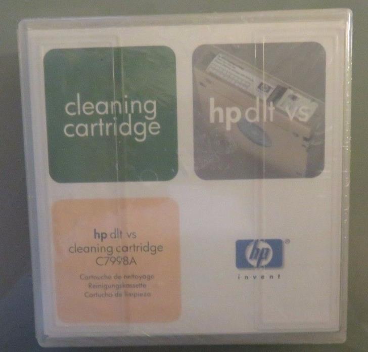 Genuine HP DLT vs cleaning cartridge C7998A (B2)
