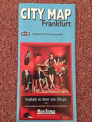 Frankfurt Germany City Travel Map