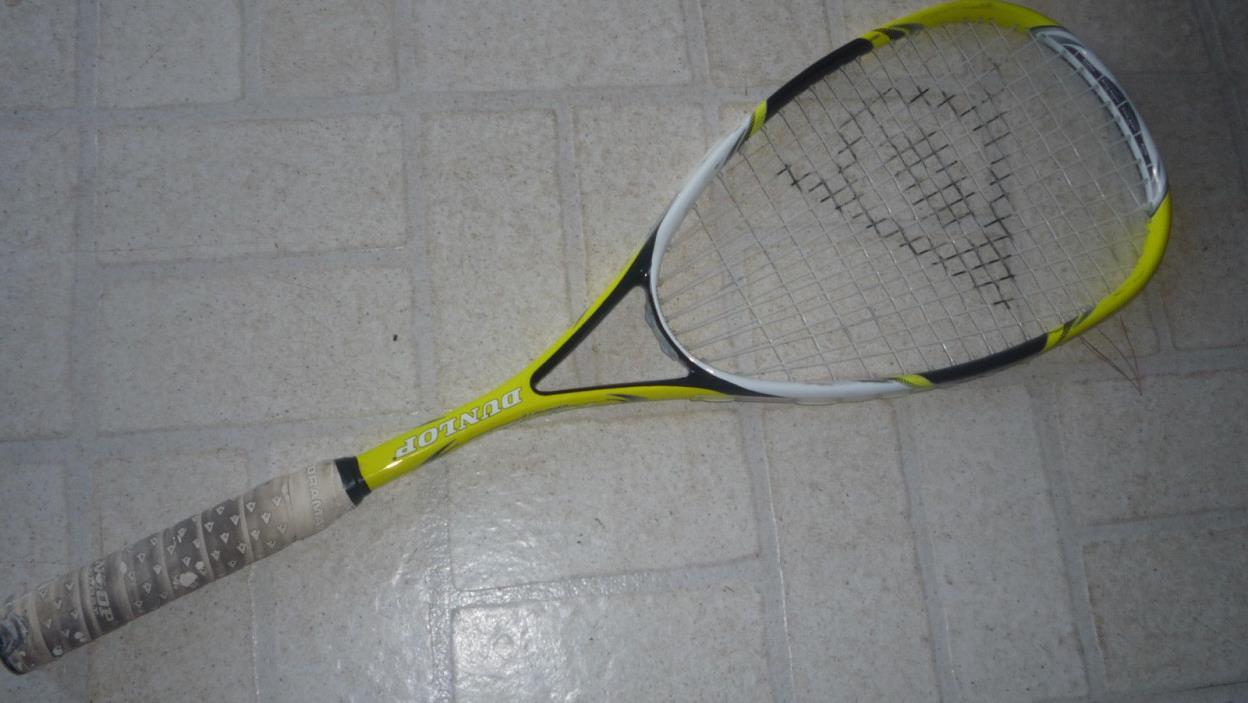 Dunlop Tempo Graphite Squash Racket