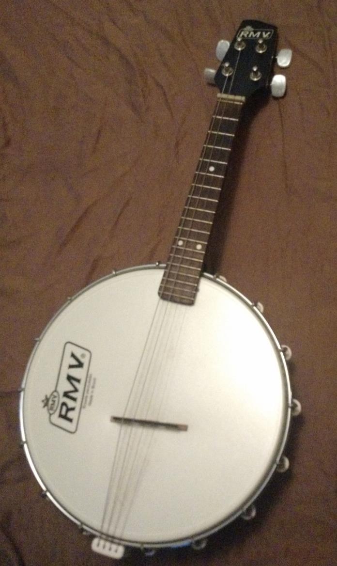 RMV Electric Banjo Cavaco - Mandolin - Ukulele - Brazilian Cavaquinho!