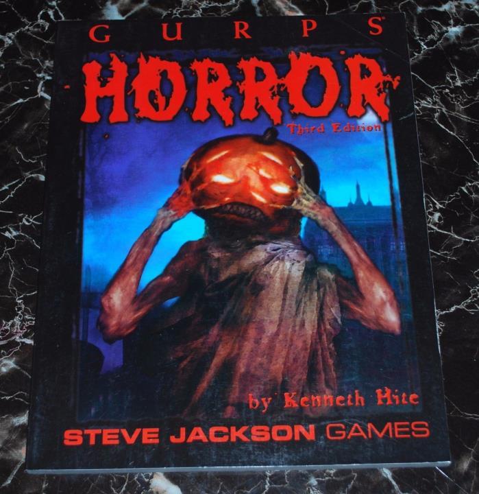 GURPS Horror 3rd Edition  SJG