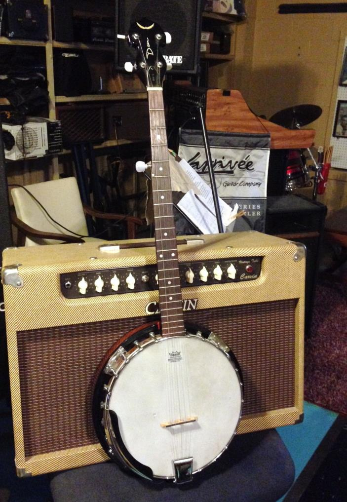 DEAN 5 String Banjo BW-3 / good pre-owned condition / nice hard shell case