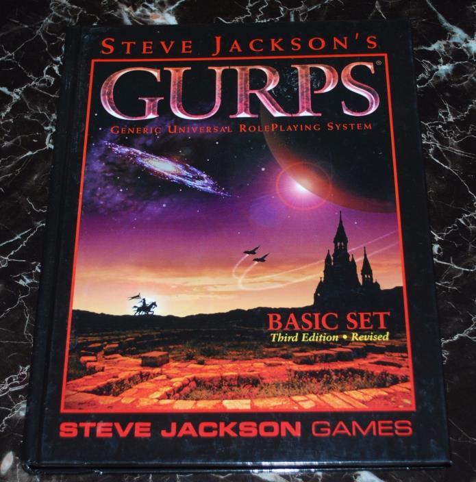GURPS Basic Set Third Edition Revised HC  SJG