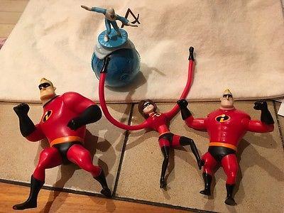 Disney Pixar The Incredibles Action Figures MacDonalds