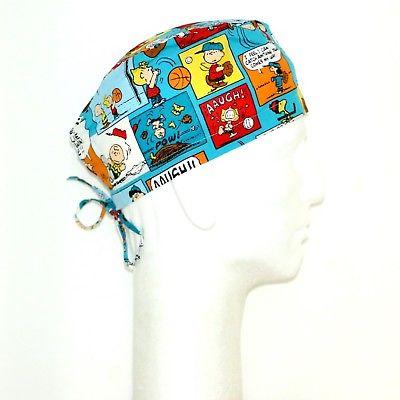 Peanuts Gang Characters Film Theme Scrub Hat
