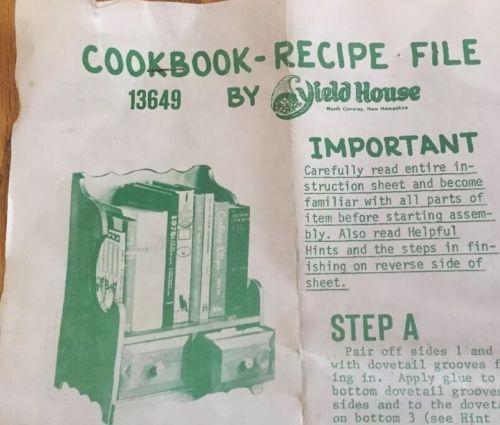 1975 YIELD HOUSE Vintage DIY craft KIT-Pine Wood SHELF+drawers NOS COTTAGE style