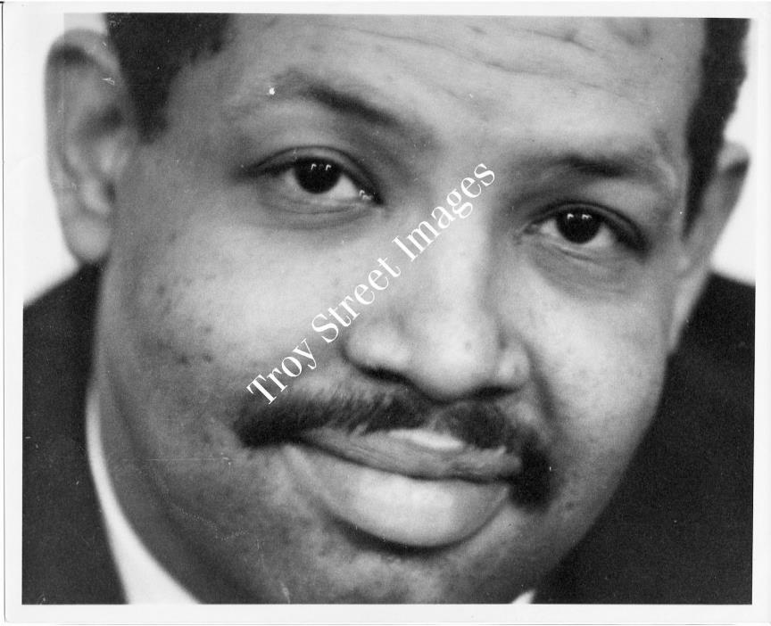 Orig photo: close-up #2 of jazz saxophonist JULIAN CANNONBALL ADDERLEY, 1960s