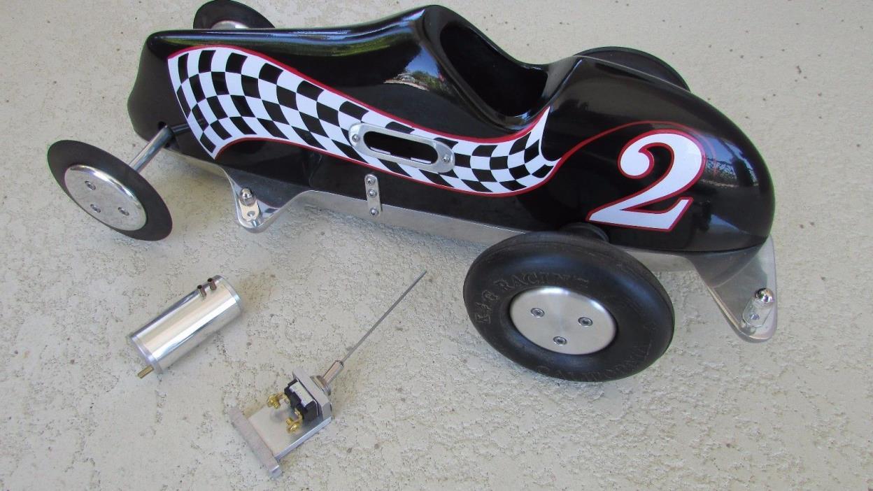 Dooling Arrow replica Barnes race car polished lower body K&G tires graphics