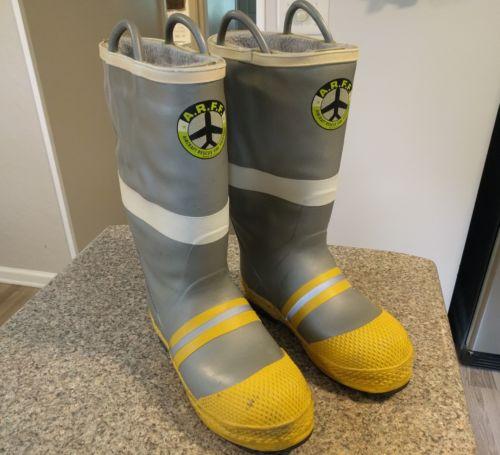 ARFF Firefighting Boots 11 Medium