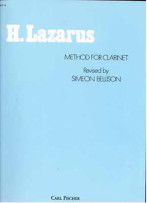 Henry Lazarus Method for Clarinet Music Instruction Book #2 by Simeon Bellison