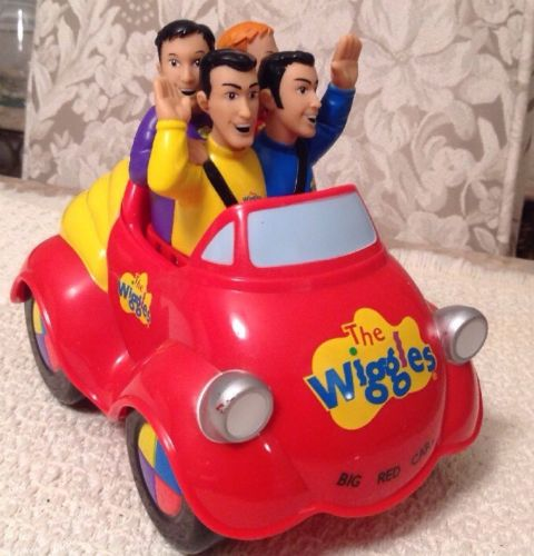 The Wiggles 2003 Spin Master Push N Go Musical Singing Big Red Car TESTED WORKS
