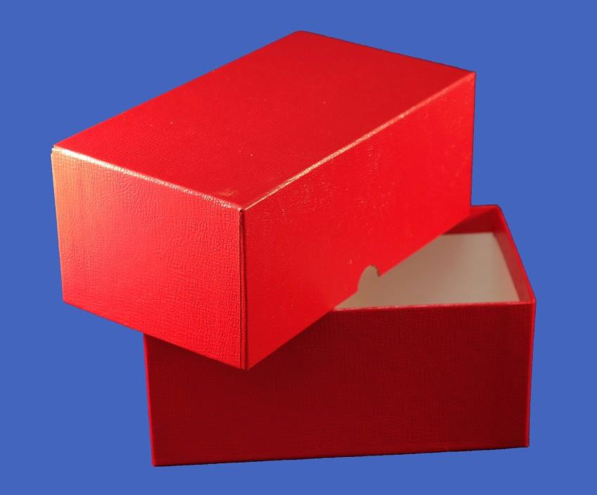 Guardhouse Small Currency Storage Box for Modern Bills Red
