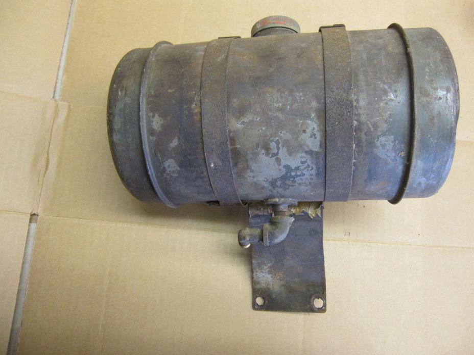 Vintage Wisconsin Engine Gas Tank AB ABN Stationary Engine Clinton Lauson Motor