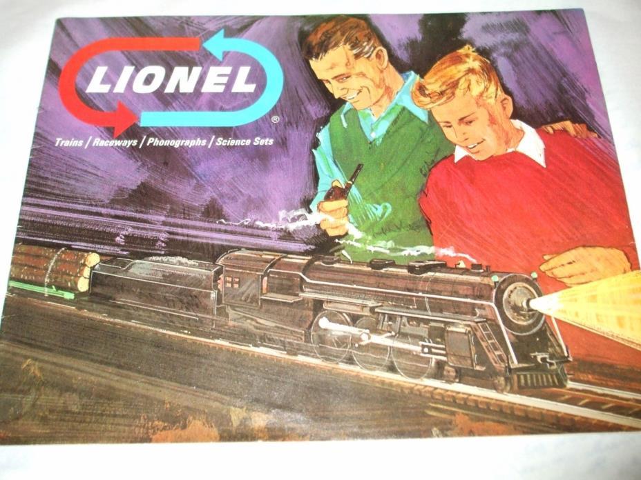 USED LIONEL 1966 CATALOG