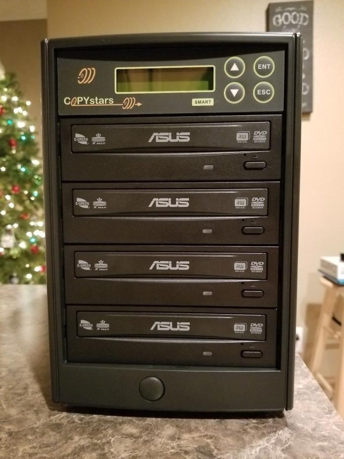Copystars DVD Duplicator 4 Asus E-Green 24x Burner CD DVD-Copier