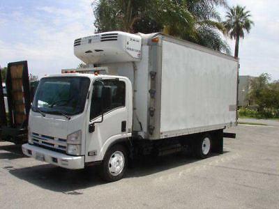 2008 Isuzu NRR 16' REEFER - Unit# 6171 Truck Tractors