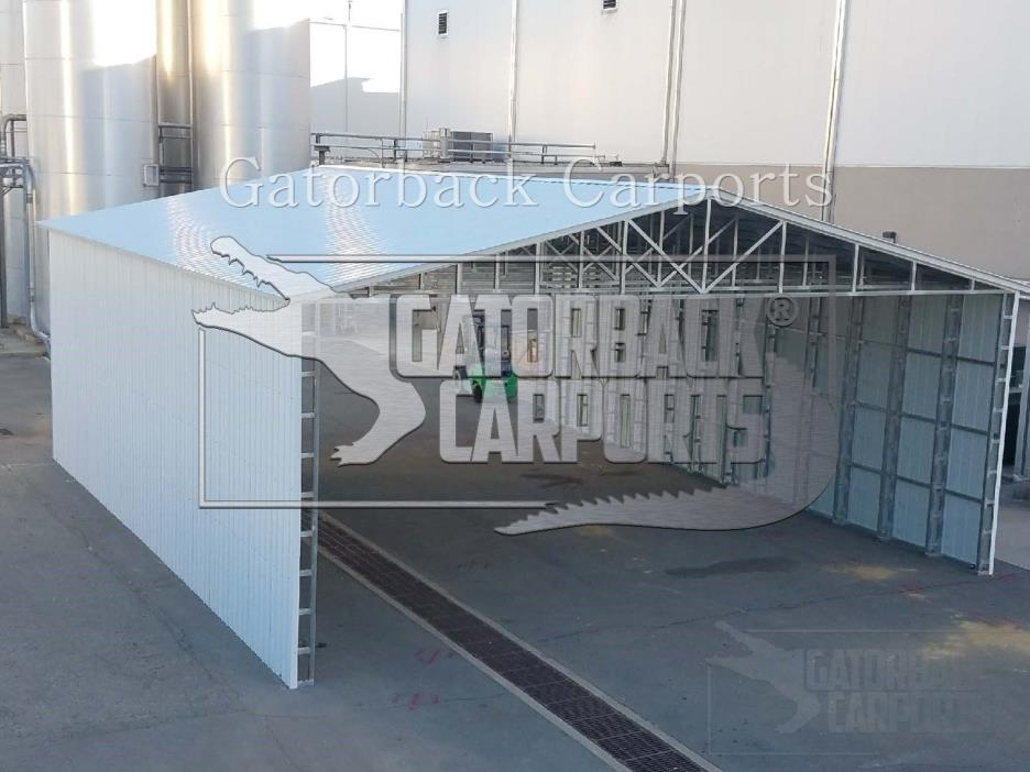 Prefab Metal Commercial Building 42x41 Steel Garage Free Install Free Delivery