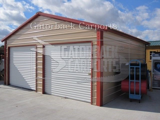 Metal Garage, Steel Building, 20x21 FREE DELIVERY & INSTALLATION NATION-WIDE!