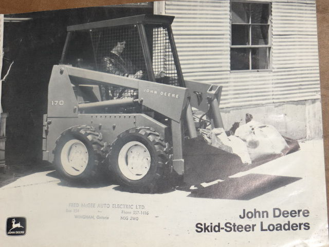 Equipment Brochure - John Deere  70 and 170 Skid Steer  Loader