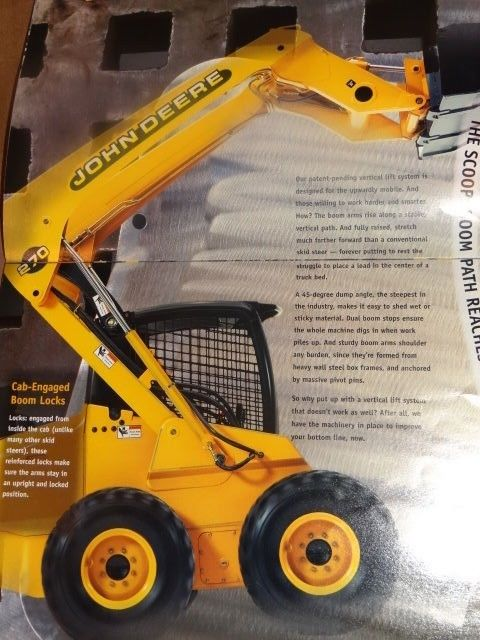 Equipment Brochure - John Deere  Skid Steer  Loader  200 Series