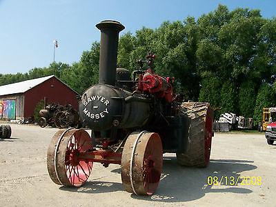 Antique Sawyer Massey steam tractor