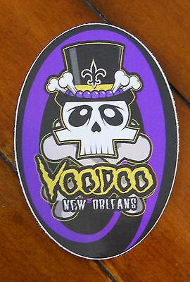 Voodoo - New Orleans  Auto/Refrigerator Decal/Sticker