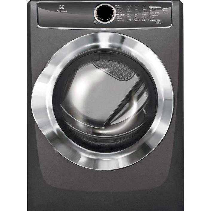Electrolux EFME617STT 8.0 Cu Ft Electric Dryer in Titanium!!! Retail is $1099!!!