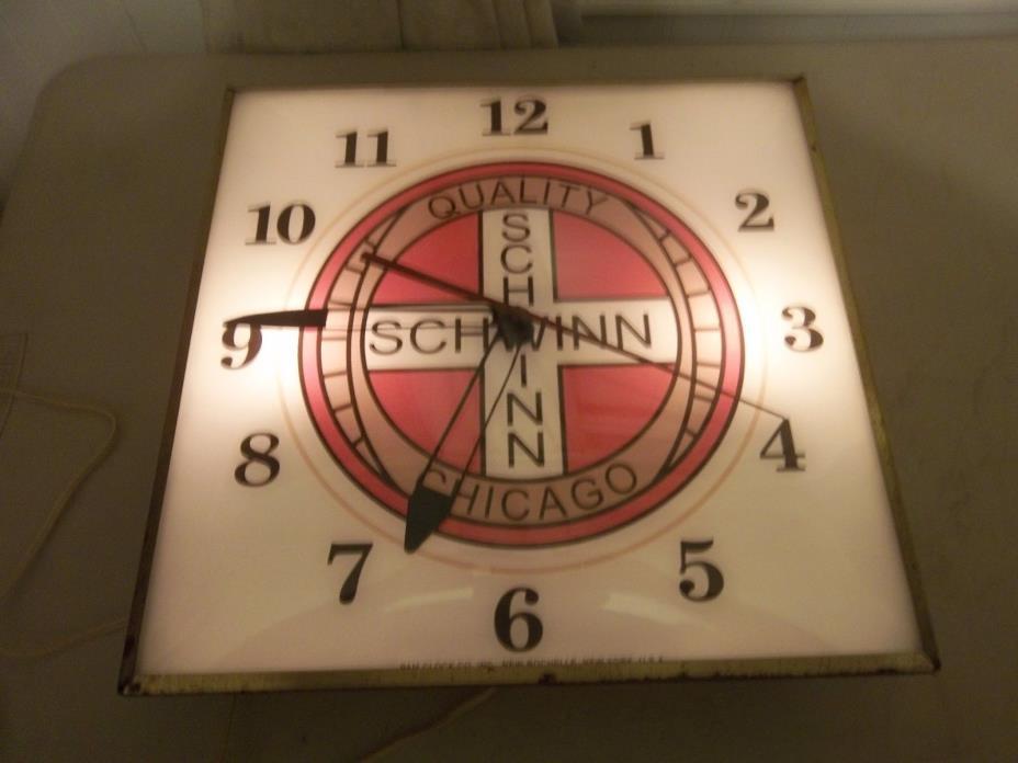 Vintage  Pam Clock  SCHWINN