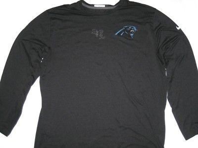DARREL YOUNG PLAYER ISSUED & SIGNED OFFICIAL CAROLINA PANTHERS #36 NIKE SHIRT