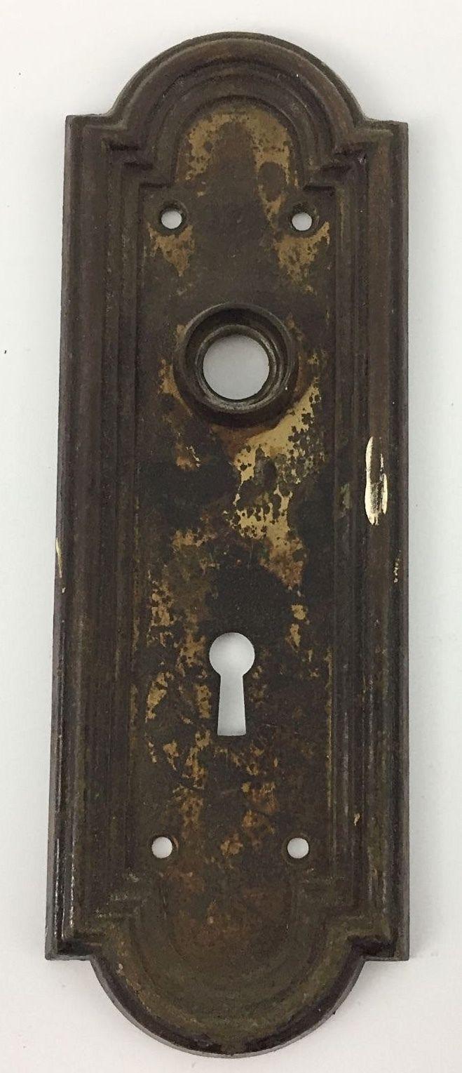 Vintage Skeleton Key Lock Faceplate Unbraned