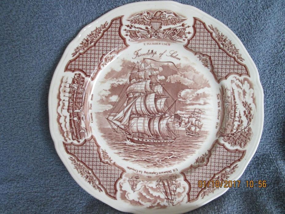 Friendship Of Salem Plate