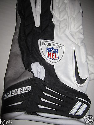 Arizona Cardinals NFL Game Used Worn Nike Super Bad Player Glove