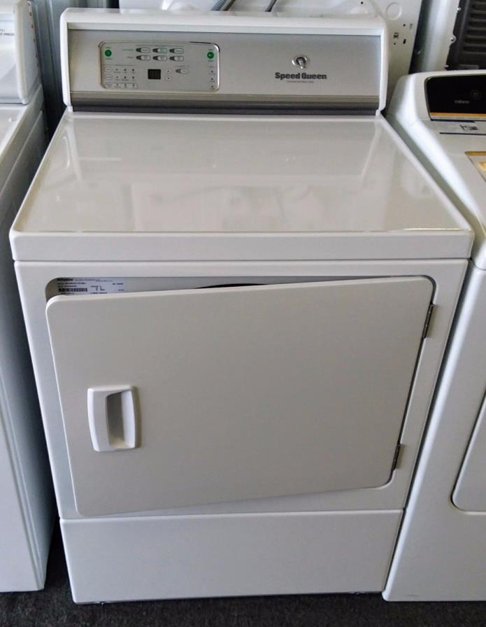 Speed Queen ADEE8RGS 27 Inch Electric Dryer with 7.0 cu. ft. Capacity in White