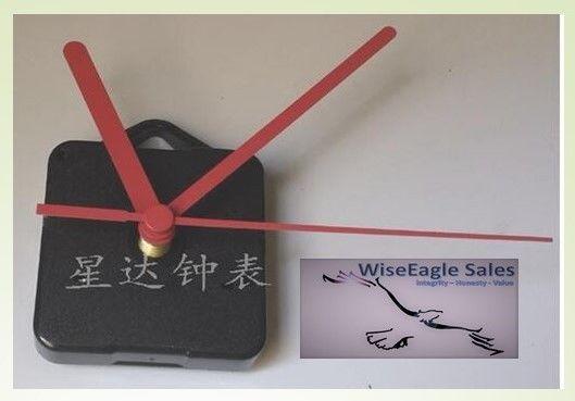 Silent Wall Clock Quartz Movement with Hook DIY (Pink Hands) Sangtai 5168s/6168s