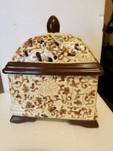 Brown Filigree Fragrance Lamp by Greenleaf Aroma Decor Fragrance Diffuser
