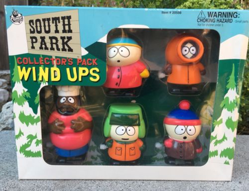 South Park Collector's Pack Wind Ups NIB 1998 5 Wind-Up Walkers
