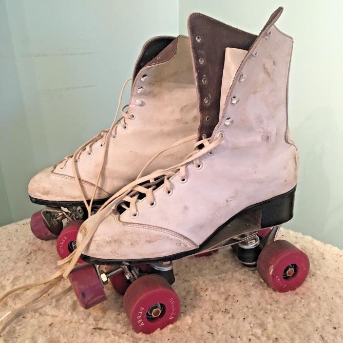 Vintage Roller Derby Skates, vintage skates, roller skates, leather roller skate