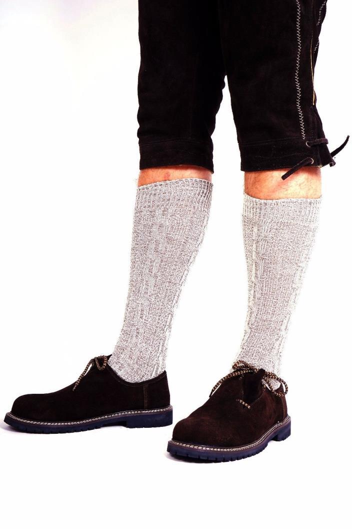 Authentic Lederhosen German Bavarian Oktoberfest Trachten Men Socks / Knee Socks