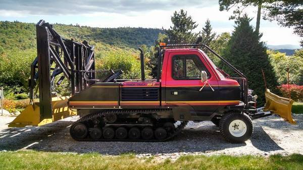 ASV Track Truck Snowmobile Trail Groomer Rubber Tracked
