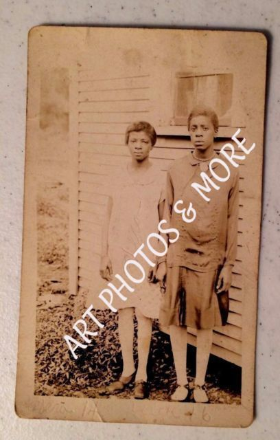 Vintage Black African American Girls  early 1900 Photos Great Antique  Americans