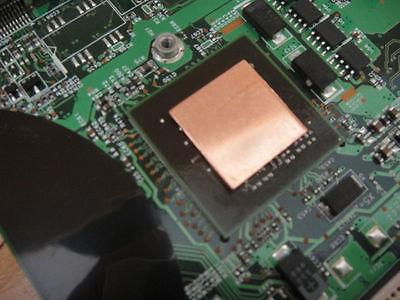 Dell XPS M1330 gpu copper pad shim 1.2mm X1
